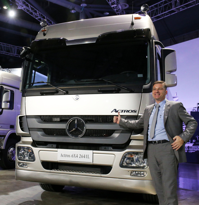 Daimler Trucks to invest W72b in Korea next year